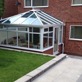 Patio and conservatory work that has been completed by our professionals