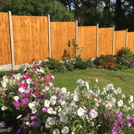 A fence that was constructed by David Miller & Son Ltd