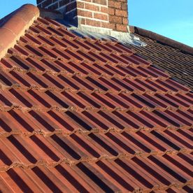 A new roof job completed by our team